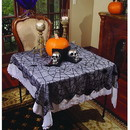 Spider Webs Lace Table Runner-Rounded