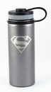 Se7en20 DC Superman Logo 18oz Stainless Steel Water Bottle