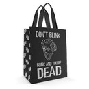 Se7en20 Doctor Who Large Tote Bag Don't Blink / Blink And You're Dead