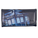 Se7en20 Doctor Who Embossed Women's Wallet: Retro TARDIS