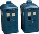 Seven20 UGT-DW12369-C Doctor Who TARDIS Ceramic Salt & Pepper Shakers Set of 2