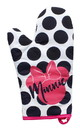 Seven20 UGT-DY10766-C Disney Minnie Mouse Polka Dot Geo Glam Oven Mitt