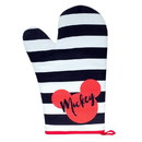 Seven20 UGT-DY10790-C Disney Mickey Mouse Polka Dot Geo Glam Oven Mitt