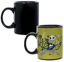 Seven20 UGT-DY13942-C Nightmare Before Christmas Jack Skellington All Hail King Jack 11oz Heat Reveal Mug