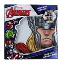 Se7en20 UGT-ML03403-C Marvel Avengers Melamine Plate Set, 4 Pieces