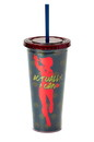 Seven20 Marvel's Captain Marvel Actually I Can 16-Oz PVC Tumbler w/ Lid and Straw