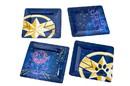 Seven20 Marvel's Captain Marvel Celestial Goose 4-Piece Melamine Plate Set