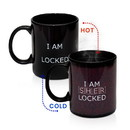 Se7en20 Sherlock 10 oz Ceramic Heat Reveal Mug: