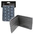 Se7en20 Sherlock Holmes Bi-Fold Wallet 221B Wallpaper (Teal)