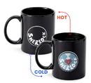 Se7en20 Sherlock Holmes I Heart Sherlock 12-oz Heat Reveal Mug
