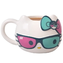 Se7en20 Hello Kitty w/ Sunglasses & Bow 20oz Ceramic Figural Mug