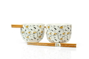 Seven20 UGT-SO13345-C Gudetama Bowl & Chopstick Set Ceramic