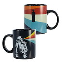 Seven20 UGT-SW14377-C Star Wars R2-D2 Heat Reveal Leia 11oz Ceramic Coffee Mug