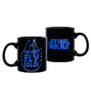 Seven20 UGT-SW14777-C Star Wars Never Fly Solo 20oz Ceramic Coffee Mug