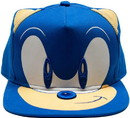USPA Accessories USP-73839-C Sonic The Hedgehog Embroidered Face Snapback Hat, One Size