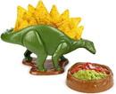 NACHOsaurus Sculpted Dinosaur Snack & Dip Bowl Set
