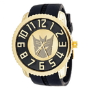 Xtreme Time XTT-320703-C Transformers Collector Edition Watch Decepticon Gold With Black