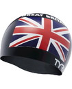 TYR LCSGB Great Britain Silicone Adult Swim Cap