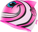 TYR LCSHFISH Kid's CharacTYR Happy Fish Swim Cap