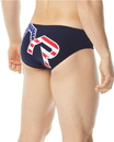 TYR RTYAM7A Men's Big Logo USA Racer