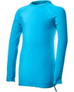TYR SWFNLK7Y Girls' Solid Long Sleeve Rashguard