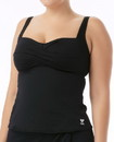 TYR TSTB7A Women's Solid Twisted Bra Tankini