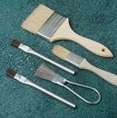 SAIT 00512 Wood handled paint brush 1 inch