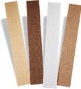 SAIT 84172 Aluminum Oxide clip-on Fileboard Sheets Wood, 2-3/4 x 17-1/2 fileboard a60d