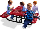 UltraPLAY 158PS-V4 Site Amenities 4' Child's Picnic Table