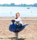 UltraPLAY UP108 Freestanding Whale Spring Rider