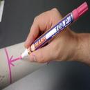 U-Mark 10205 100P Industrial Paint Marker, White