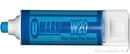 U-Mark 10852 W20 Water Based Paint Marker, Blue
