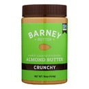 Barney Butter - Almond Butter - Crunchy - Case of 6 - 16 oz.