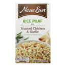 Near East Rice Pilaf Mix - Chicken and Garlic - Case of 12 - 6.3 oz.