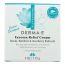 Derma E - Psorzema Natural Relief Creme For Scaling Flaking and Itching - 4 oz.