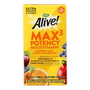 Nature's Way - Alive Max3 Daily Multi-Vitamin - Max Potency - No Iron Added - 60 Tablets