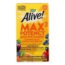 Nature's Way - Alive Max3 Daily Multi-Vitamin - Max Potency - No Iron Added - 90 Tablets