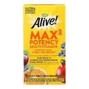 Nature's Way - Alive Max3 Daily Multi-Vitamin - Max Potency - 60 Tablets