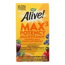 Nature's Way - Alive Max3 Daily Multi-Vitamin - Max Potency - 90 Tablets