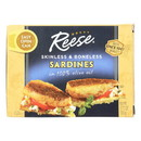 Reese Sardines - Skinless Boneless in Olive Oil - Case of 10 - 3.75 oz