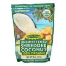 Let's Do Organics Organic Shredded - Coconut - Case of 12 - 8 oz.