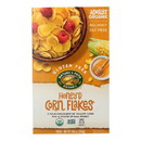 Nature's Path Organic Corn Flakes Cereal - Honey'd - Case of 12 - 10.6 oz.