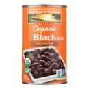 Westbrae Foods Organic Black Beans - Case of 12 - 25 oz.