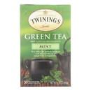 Twining's Tea Green Tea - Mint - Case of 6 - 20 bags