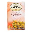 Twining's Tea Herbal Tea - Pure Rooibos Red - Case of 6 - 20 bags