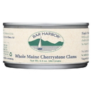Bar Harbor - Whole Maine Cherrystone Clams - Case of 12 - 6.5 oz.