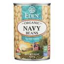 Eden Foods Navy Beans - Organic - Case of 12 - 15 oz.
