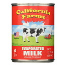 California Farms Evaporated Milk - 12 oz - case of 24