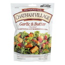 Chatham Village Traditional Cut Croutons - Garlic and Butter - Case of 12 - 5 oz.