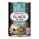 Eden Foods Organic Black Beans - Case of 12 - 15 oz.